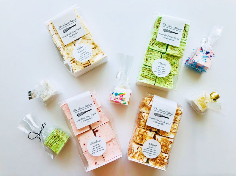 Individual Small Batch Hand Crafted Marshmallows image 0