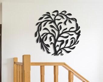 813cde9ee2 Metal Wall Art, Metal Wall Decor, Metal Tree Wall Art, Tree Decor, Tree  Wall Decor, Tree Wall Art, Tree of Life, Family Tree of Life, Art