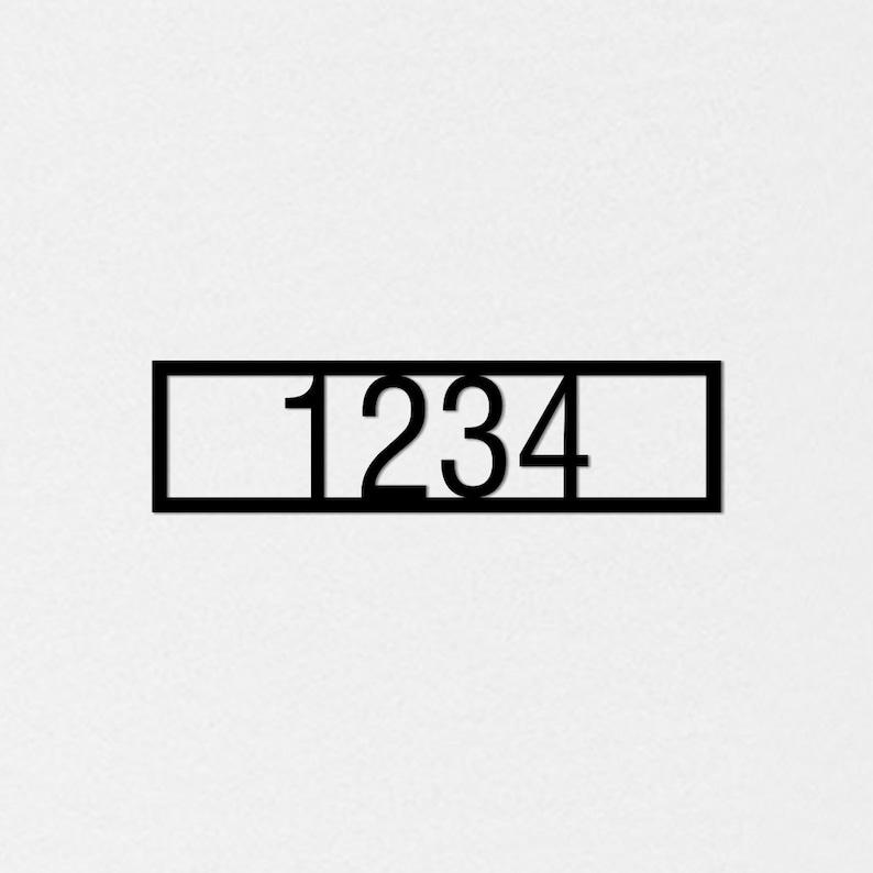 Metal Signage Custom order 15 x 4 Outdoor hanging Address signs Name plates Custom house numbers Custom Metal signage