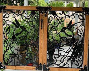 Metal Garden Gates & Pedestrian Gates   Architectural Gates 4'x4' I Double Gates