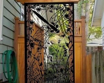Dragonfly Entry Gate   Garden Metal Gate   Decorative Pedestrian Gate