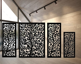 Metal Privacy Screen For Indoor and Outdoor   Custom Design Available