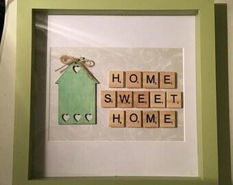 Home Sweet HomeBox Frame
