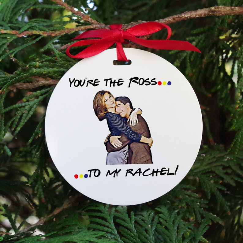 Funny Boyfriend Ornaments Girlfriend V Day Christmas Gifts Ross And Rachel Christmas Ornaments Valentines Day Aluminum Ornament