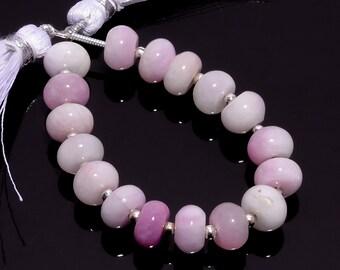 Handmade Beads 16Inch Strand Bio Quartz Smooth Rondelle 7mm Gemstone Beads Jewelry Making Bio Quartz Gemstone Beads Gift For Her