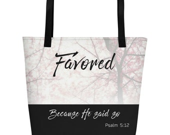 Christian Inspirational I Am Campaign Tees Favored Tote Bag
