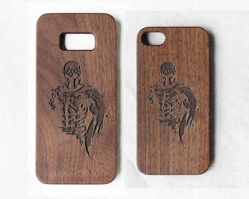 best sneakers 505bf dbdb3 Marvel Magneto wood Samsung galaxy S6 case wood phone case | Etsy