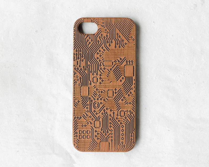 Printed Circuit Board PCB wood Samsung galaxy S6 case wood | Etsy on screen shot samsung s5, manual samsung s5, features samsung s5, accessories samsung s5, cover samsung s5,