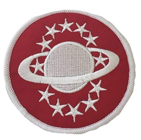 Galaxy Quest Red Embroidered 3