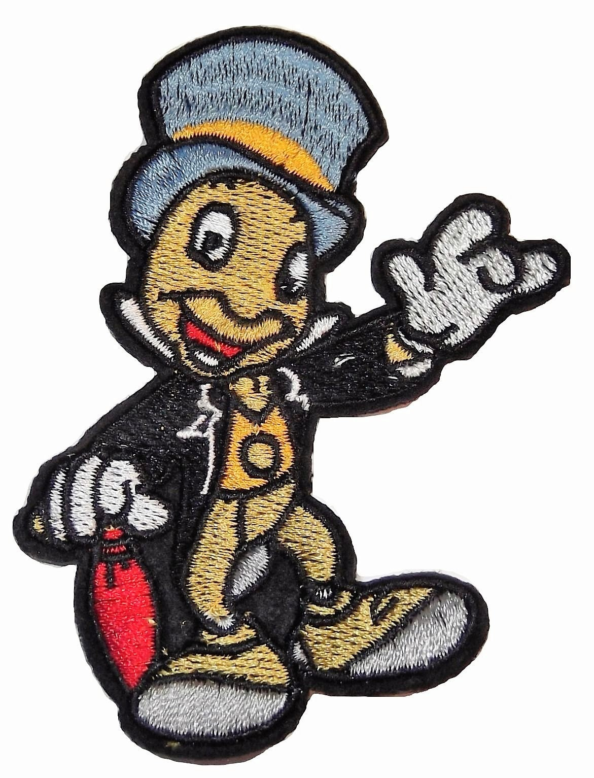 """Mighty Mouse~Embroidered Patch~3/"""" x 1 3//4/""""~Cartoon Superhero~Iron or Sew"""