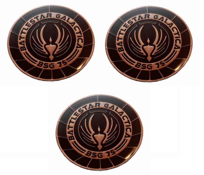 "Battlestar Galactica TV Series Viper Pilots 3 1//2/"" Shoulder PATCH"