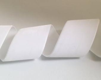 White Luxury Velvet Ribbon 3mm 25mm 1 5Metres