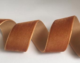 Per Metre 9mm Copper Velvet