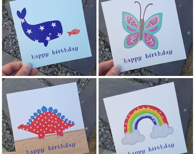Special Offer / Multi Buy • Birthday / Greetings Cards • 6 cards for the price of 5 (& FREE UK POSTAGE)