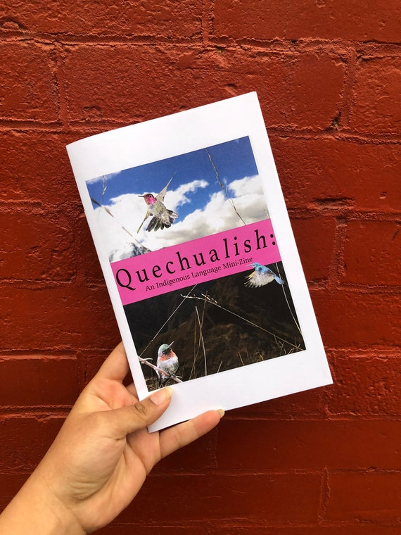 zine cover: Quechualish