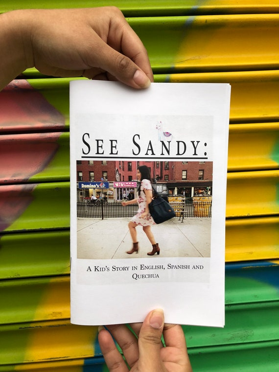 cover: See Sandy zine