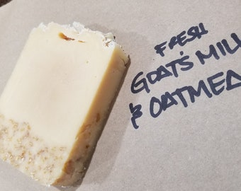 Natural Goat Milk with Oatmeal