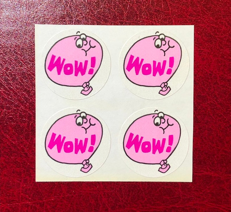 Vintage TREND Matte Scratch and Sniff Stinky Stickers No TM SPEARMINT