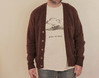 Vintage Wool Men's Cardigan