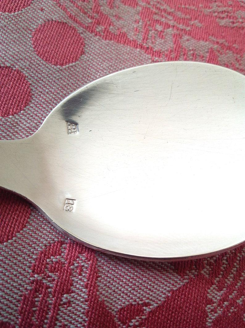 12 Petites Cuillères à Glace - French Vintage Art Déco - Prestige Ice cream spoons -