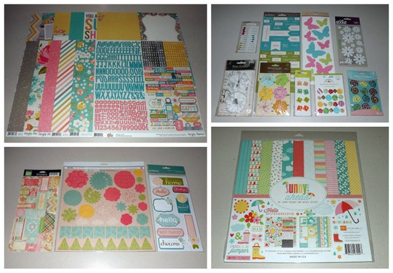 Echo Park ~ SUNNY AHEAD ~ Collection Kit ~ 12x12