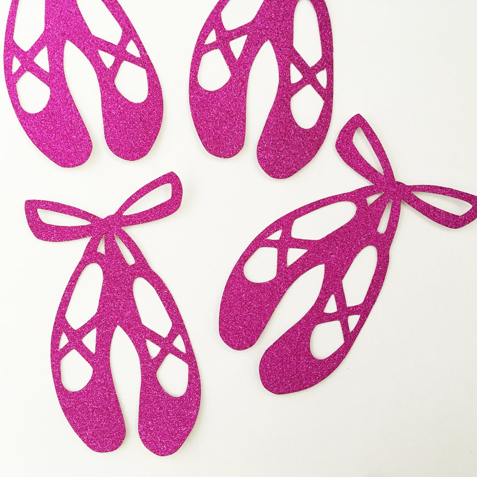 ballet shoes craft party confetti