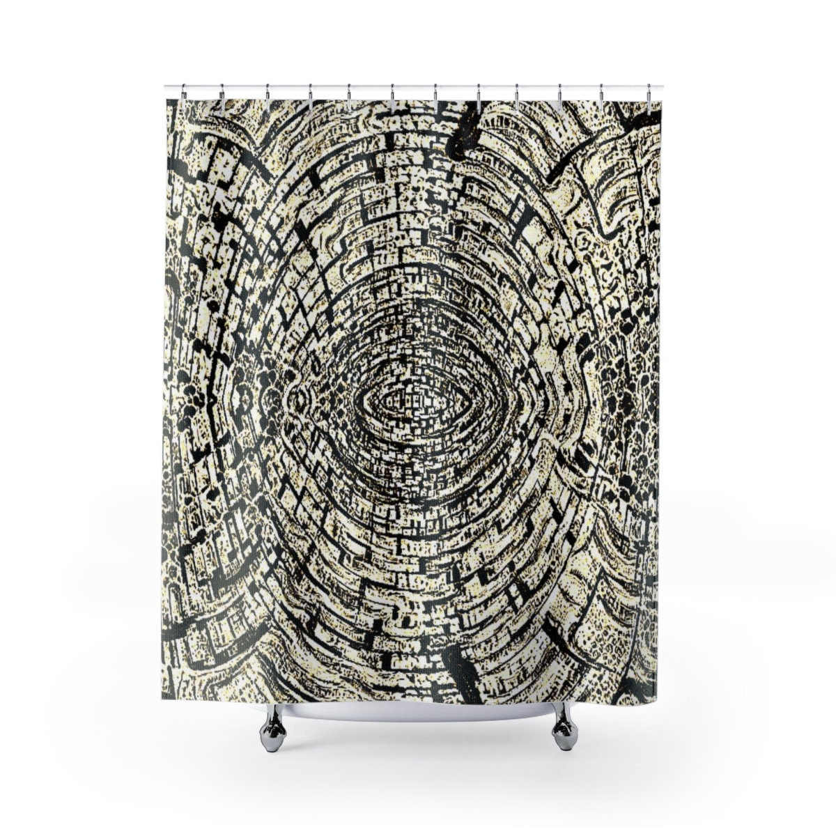 Mojave Surem Cloth Shower Curtains An Organic Pattern Nature Inspired Interesting To Gaze Upon Would Fit In Almost Any Bathroom