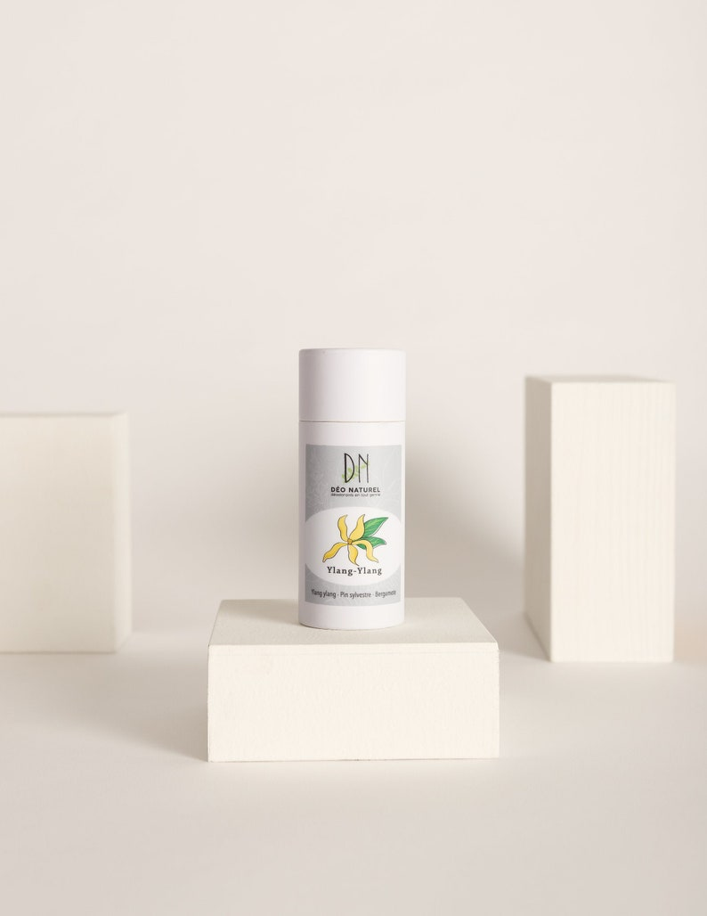 Ylang Ylang Deodorant  Compostable Tube  For men and women  image 0