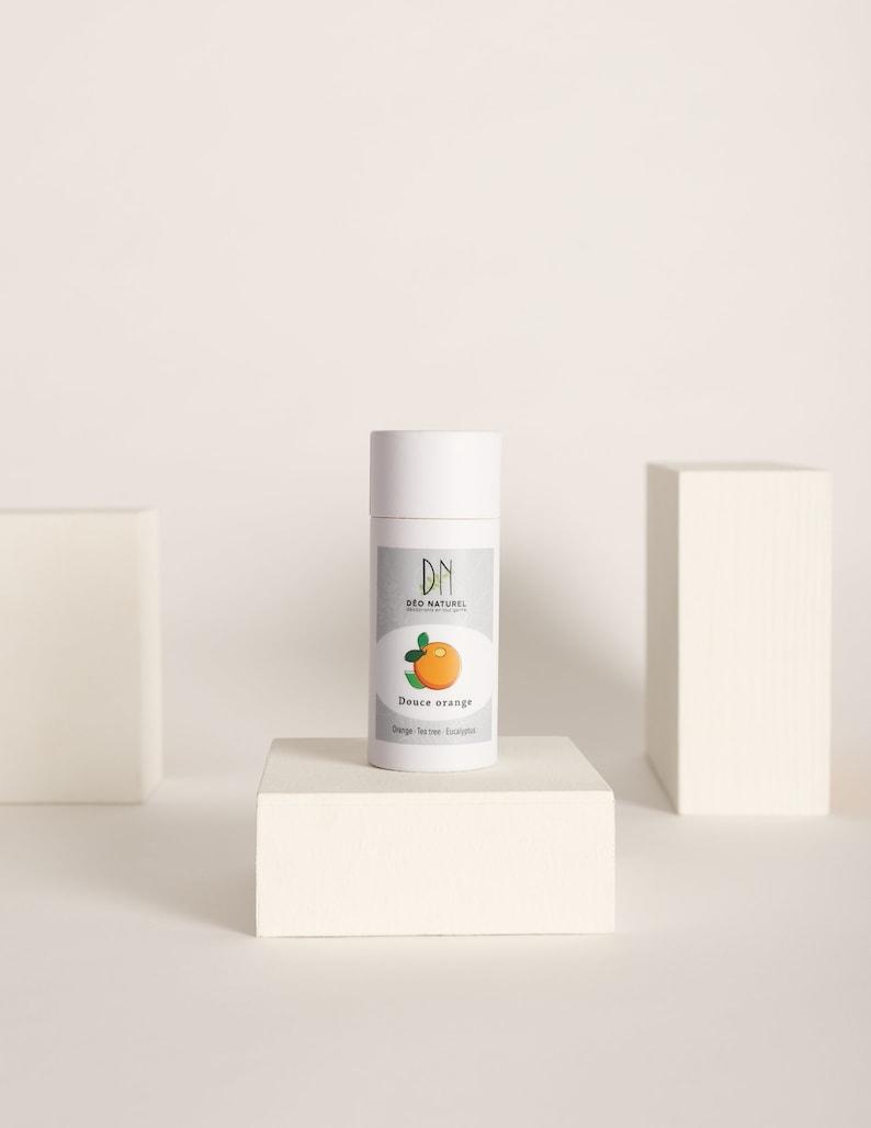 Sweet Orange Deodorant  Compostable Tube  For men and women image 0