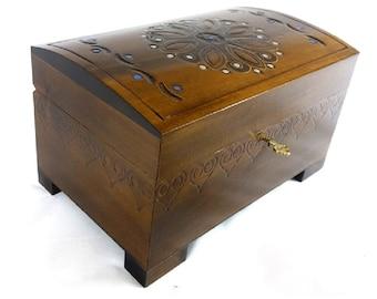 wooden chest etsy - Storage Chest Trunk