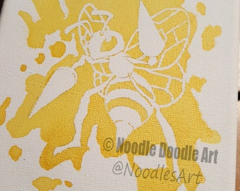 Beedrill Canvas - 5x7