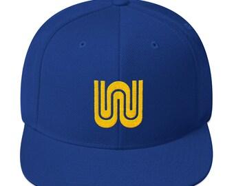 Golden Stated Transit Snapback Hat