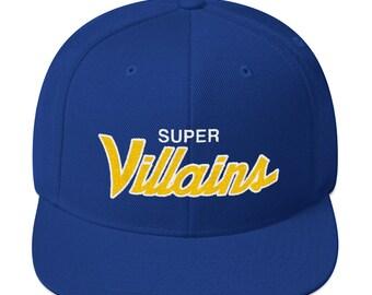 Golden Stated Super Villains Snapback Hat