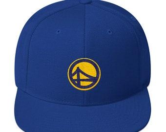 Golden Stated Snapback Hat