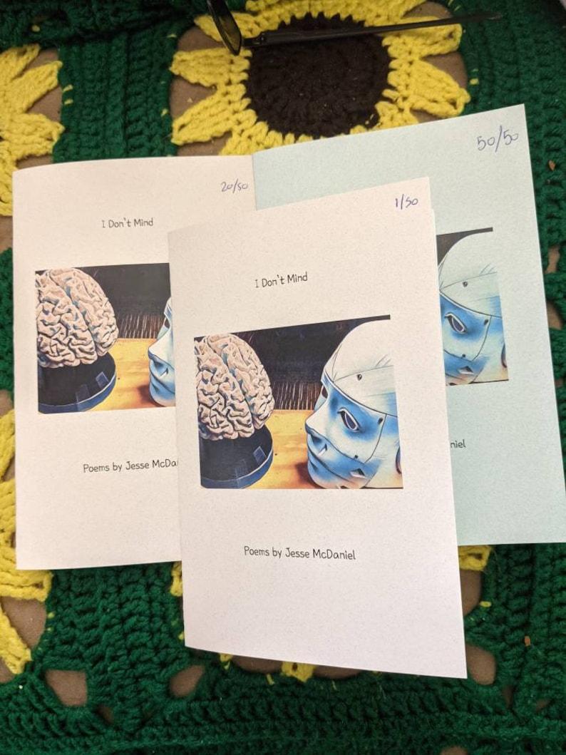 I Don't Mind An original poem book by Jesse McDaniel image 0