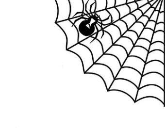 Spider Web Corner Etsy
