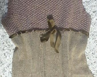 Women's tunic in linen/cotton