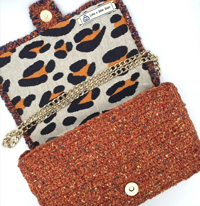 Belle Bag orange Made to ORDER contemporary fashion COLOR your DAYS