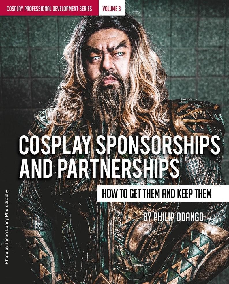 Cosplay Sponsorships and Partnerships Ebook image 0