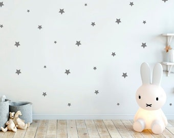 Star Wall Stickers, Star Wall Decals, Nursery Decor, Nursery Wall Stickers,  Wall Decals Nursery, Star Stickers, Kids Room Decor