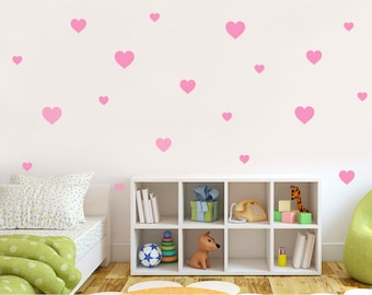 More Colours. Heart Wall Stickers ...