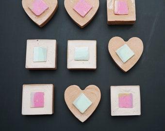 AVO ADORE - Avocado and Pink Clay Facial Soap - 100% Organic Natural Luxurious Handmade Soap bar for face