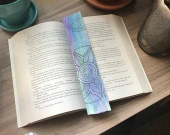Watercolor Mandala Bookmarks