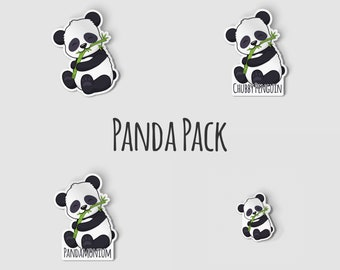"""Penguin Sticker Pack, Funny Stickers, 2"""" Die Cut Stickers, 2 Inch Vinyl Decals, Hydro Flask, Aesthetic Stickers, Penguin Gift"""