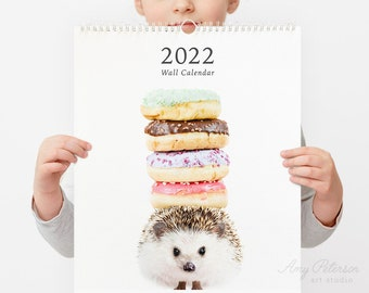 2022 Wall Calendar, Whimsy Animals by Amy Peterson