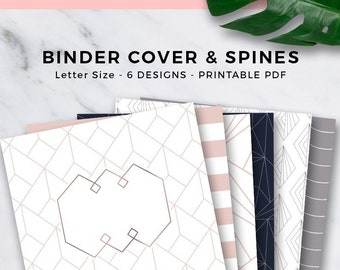 photo about Binder Cover Templates Printable known as Binder protect Etsy