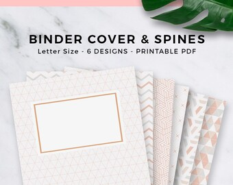 Binder Cover Etsy