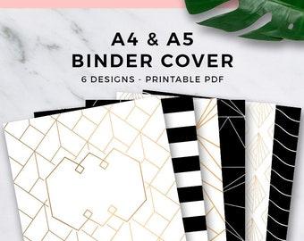 binder cover printable etsy