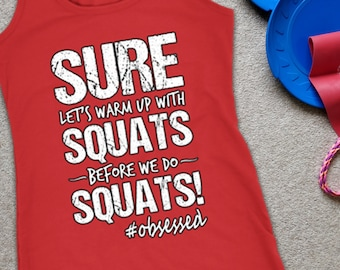 Squats quote shirt | Etsy