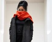 ORANJIP-scarf-orange/grey...